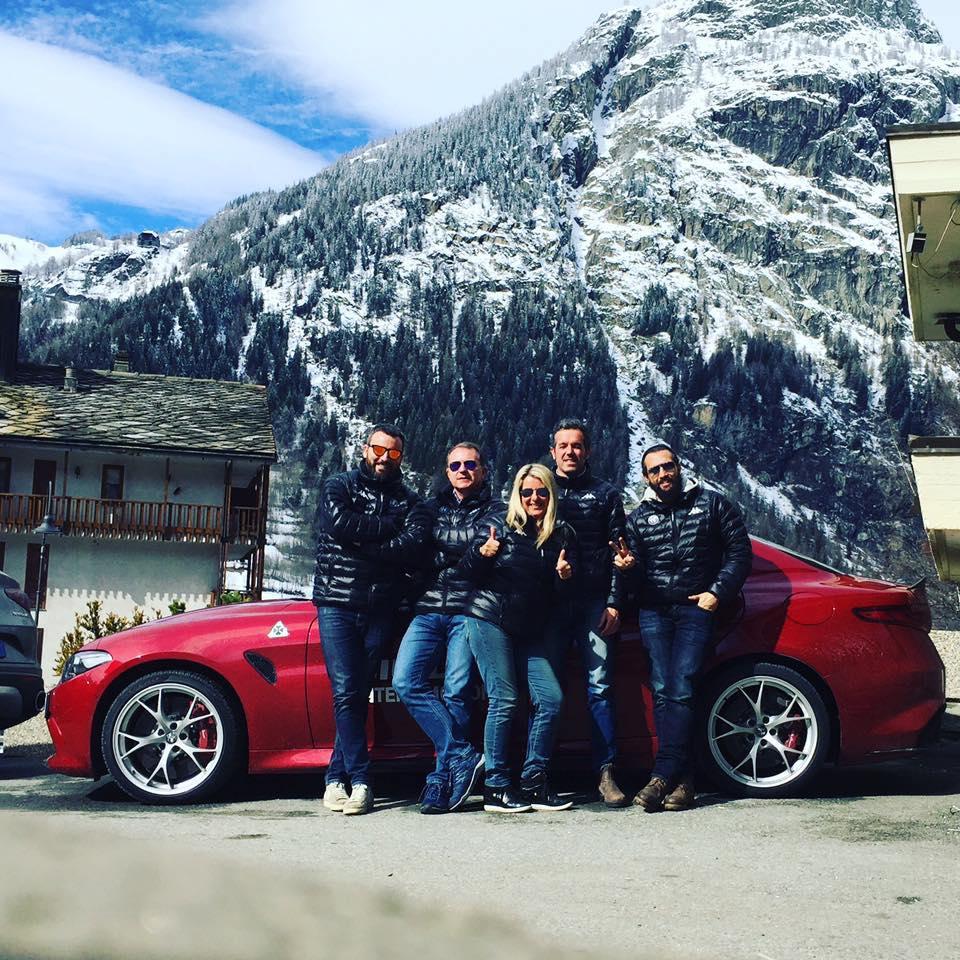 Test Drive Alfa Romeo Giulia – Courmayeur